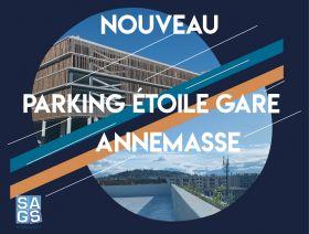 SAGS Parc Un nouveau parking pr�s de la gare d'Annemasse !