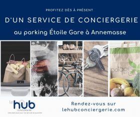 SAGS Parc SAGS lance le hub conciergerie au parking Etoile Gare !