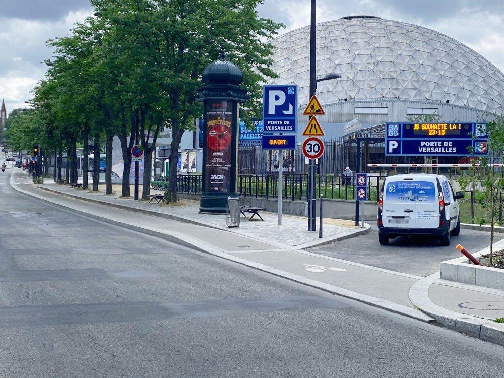SAGS Parc PORTE DE VERSAILLES